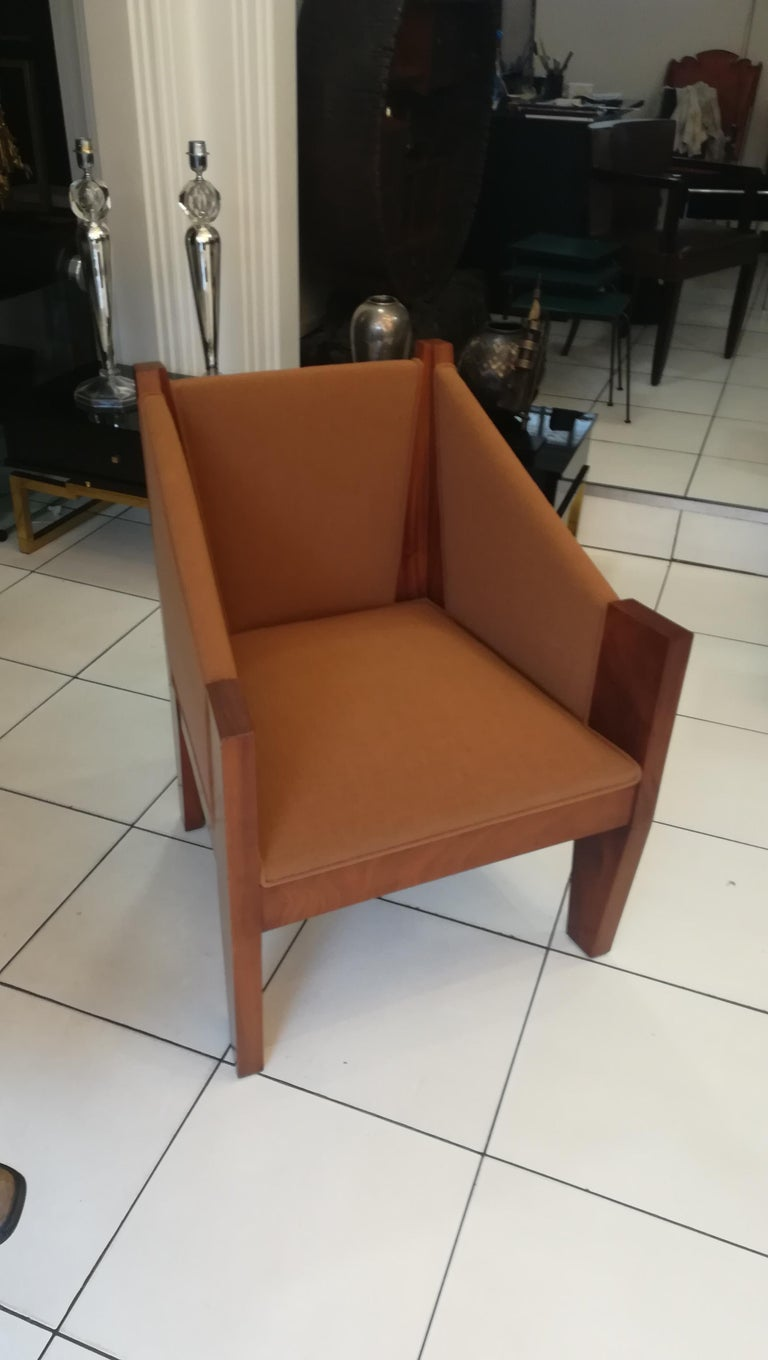 André Sornay Armchair, circa 1920 In Excellent Condition For Sale In Saint-Ouen, FR