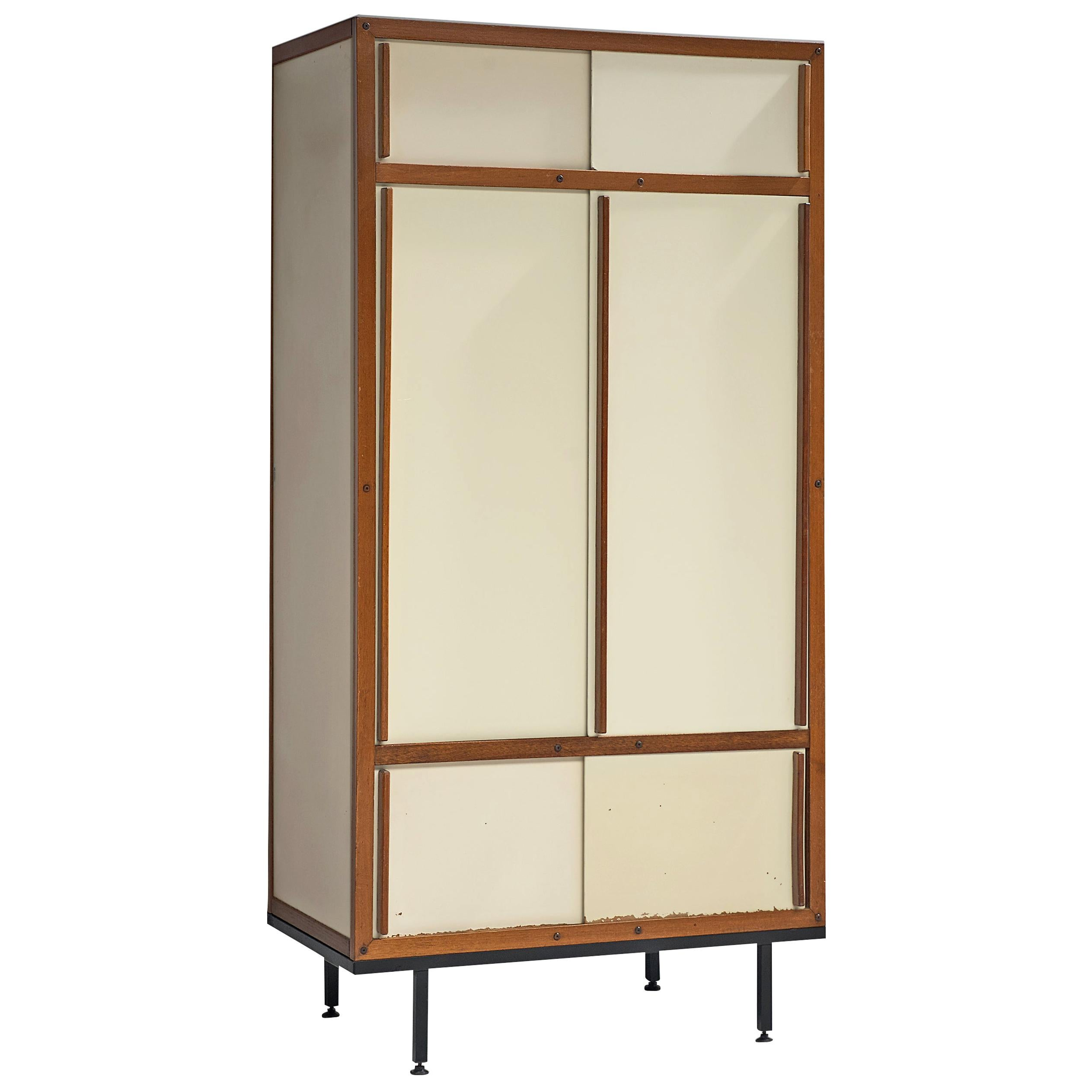André Sornay Cabinet in Mahogany