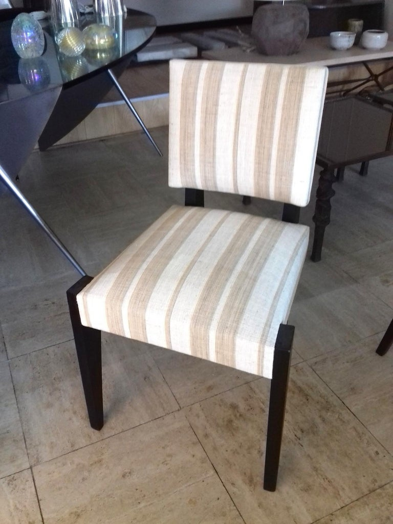 André Sornay Pair of Chairs, circa 1930 For Sale 2