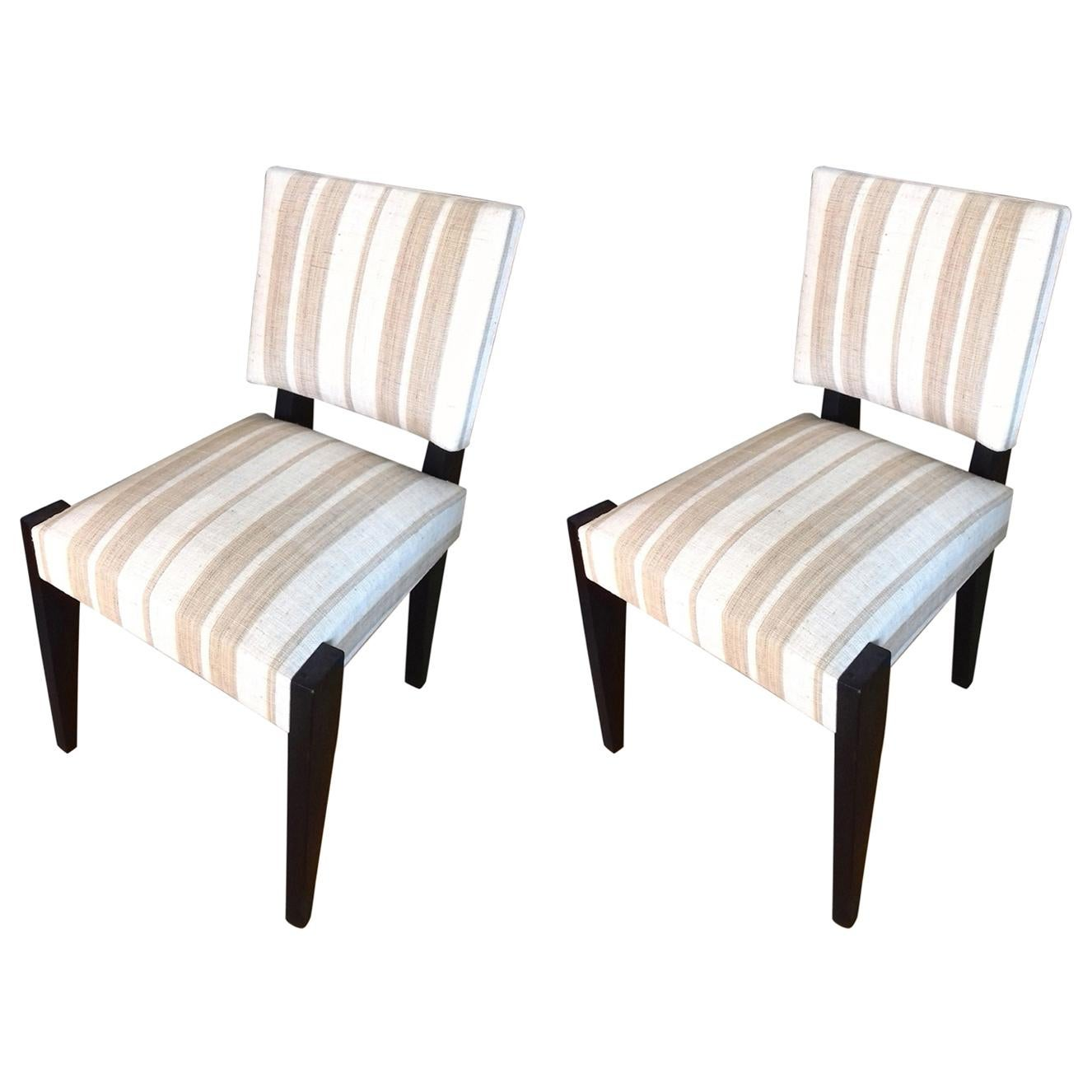 André Sornay Pair of Chairs, circa 1930