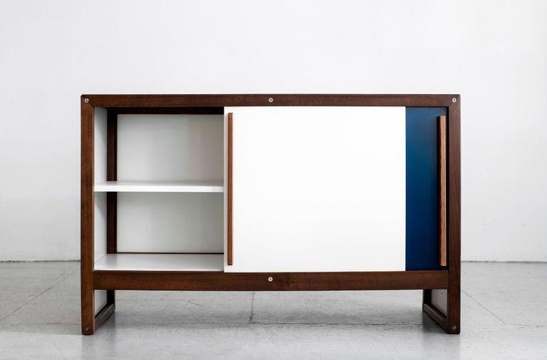 Enameled André Sornay Sideboard For Sale