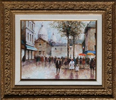Montmarte, 1946 Oil Painting by Andre Vinot