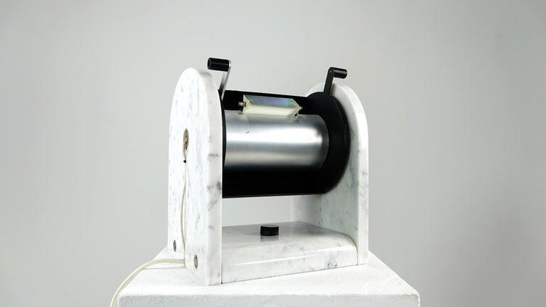 Andrea Bellosi Marble Lamp Arc en Ciel by Studio Alchimia, Italy, 1979 For Sale 5