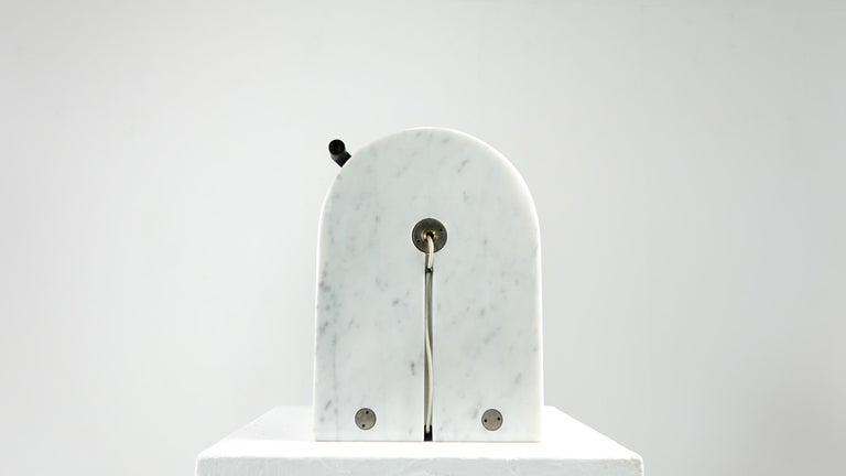 Andrea Bellosi Marble Lamp Arc en Ciel by Studio Alchimia, Italy, 1979 For Sale 1