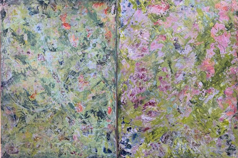 Jungle Run II - Painting by Andrea Bonfils