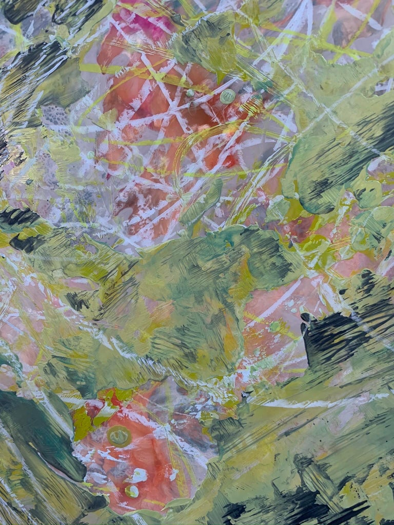 Jungle Run II - Contemporary Painting by Andrea Bonfils