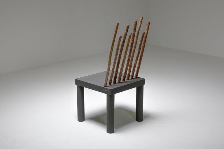 Post-Modern Andrea Branzi Chair from the Animali Domestici Series For Sale