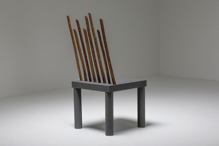 Late 20th Century Andrea Branzi Chair from the Animali Domestici Series For Sale
