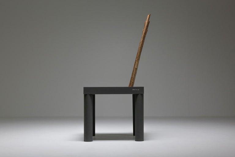 Birch Andrea Branzi Chair from the Animali Domestici Series For Sale