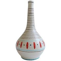 Andrea D'Arienzo Ceramic Vase, Italy 1950s