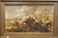 Italian Wars Battle Scene, 17th Century
