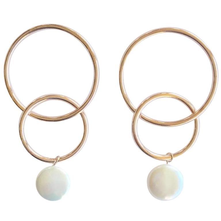 c3be939f9679b Andrea Estelle Double Hoop Earrings
