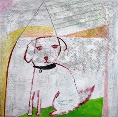 Andrea Humphries, Flirt, Contemporary Art, Animal Art, Affordable Art