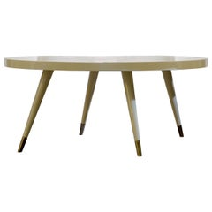 Andrea Oval Coffee Table by Dom Edizioni