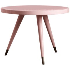 Andrea Pink Side Table By Dom Edizioni