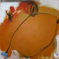 Orange Experience, Mixed Media on Canvas