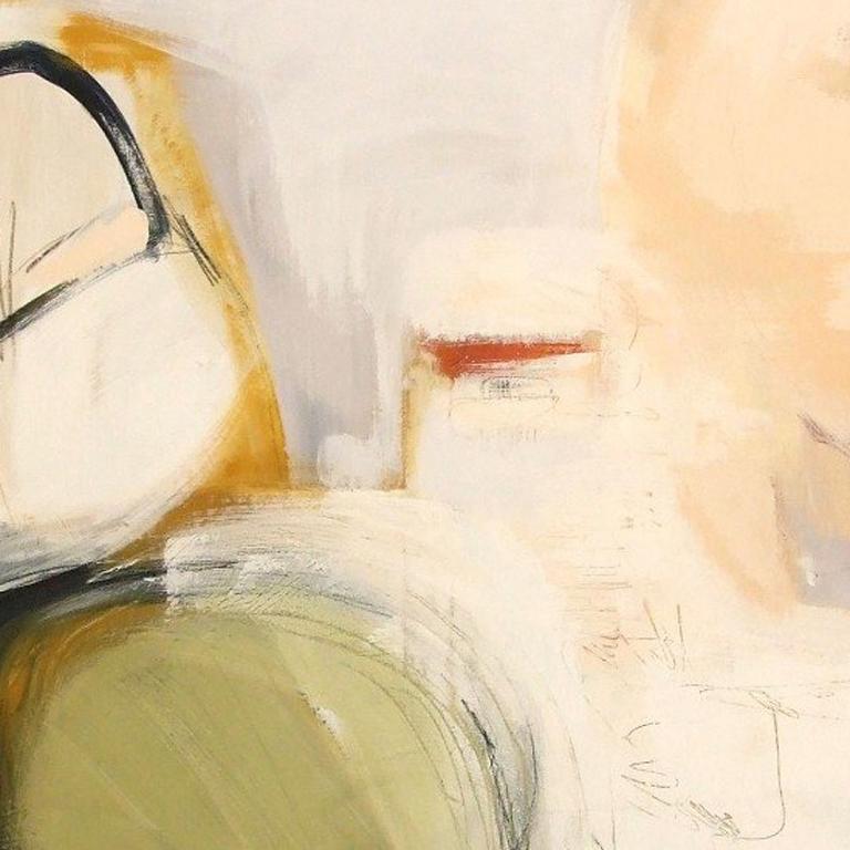 Thinking Boundless, Mixed Media on Canvas - Contemporary Mixed Media Art by Andrea Rowbotham