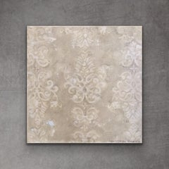 Aged Damask, abstract.