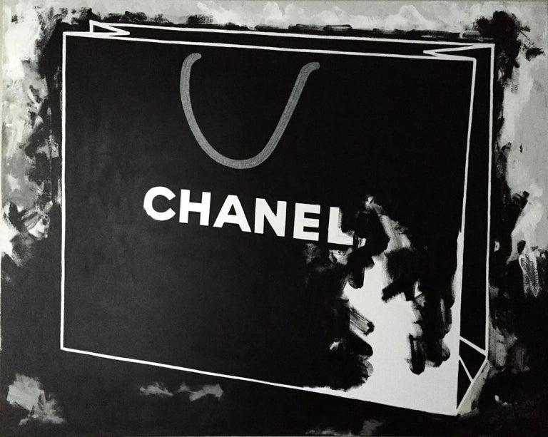 Chanel  - Art by Andrea Stajan-Ferkul