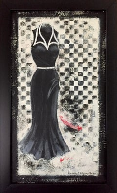 Going Retro - 4  (Black and White Dress)