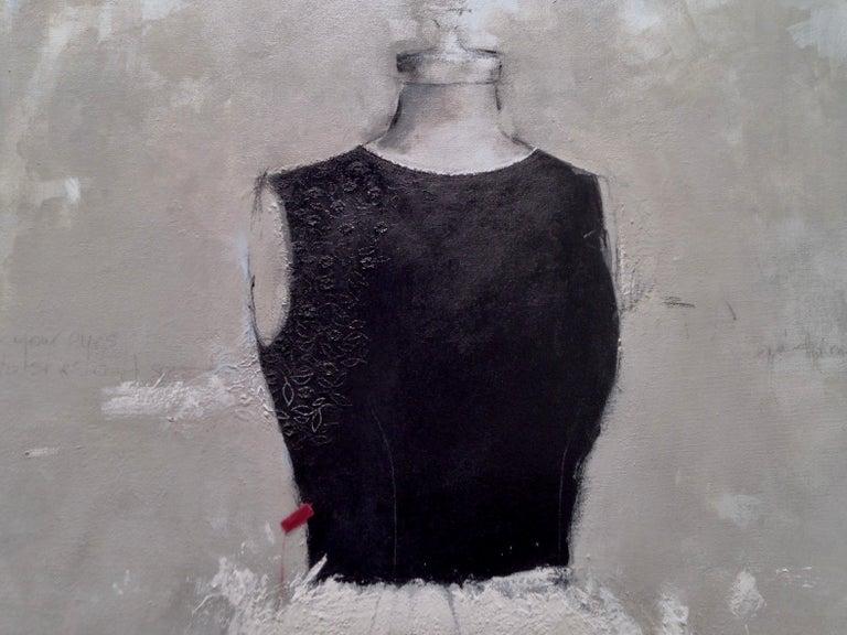 I Want To Be Like Grace Kelly (Dress 21) - Contemporary Art by Andrea Stajan-Ferkul