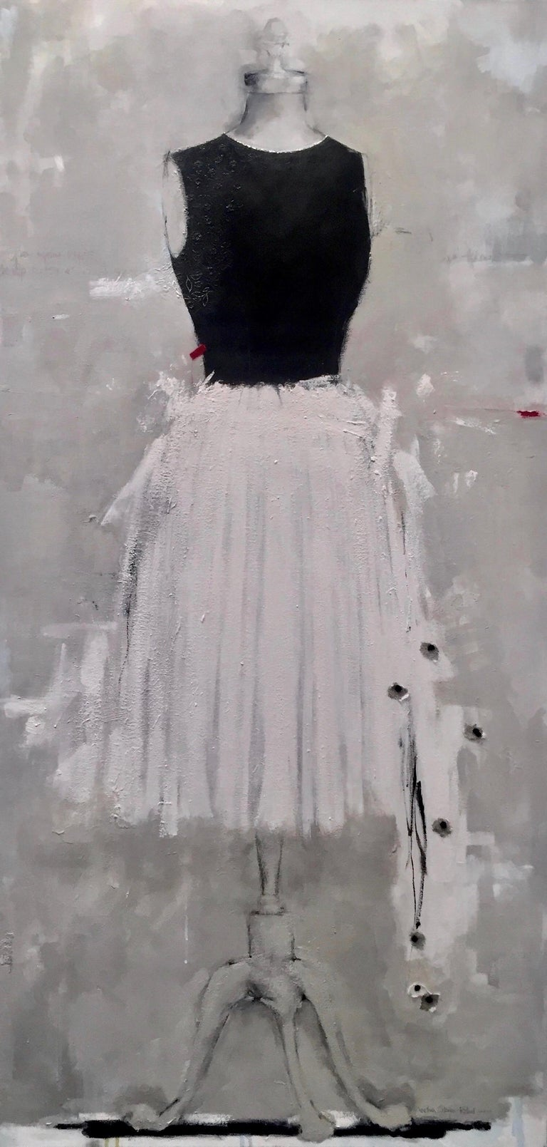 I Want To Be Like Grace Kelly (Dress 21) - Art by Andrea Stajan-Ferkul