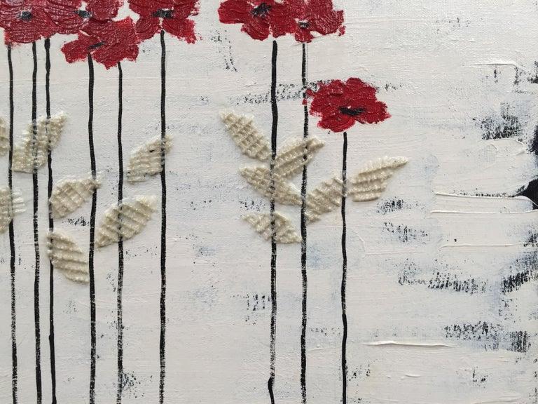 Red Heads 2 - Painting by Andrea Stajan-Ferkul