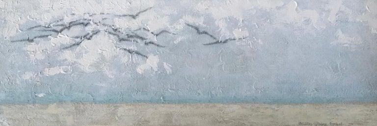 Surfing The Clouds - Art by Andrea Stajan-Ferkul