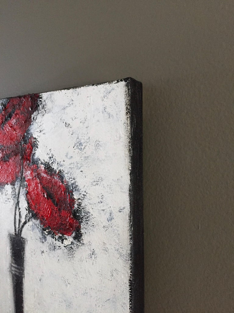 Three Red Poppies For Sale 1
