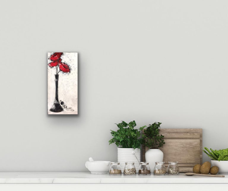 Three Red Poppies For Sale 6