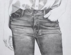 Untitled (Blue Jeans)