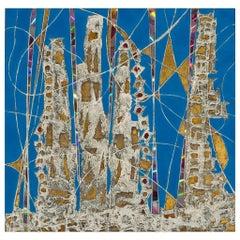 Andrea Stella, Tracce Future, Mixed-Media on Canvas, 2000s