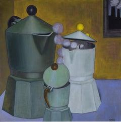 Italian Contemporary Art by Andrea Vandoni - Multiethnic Family