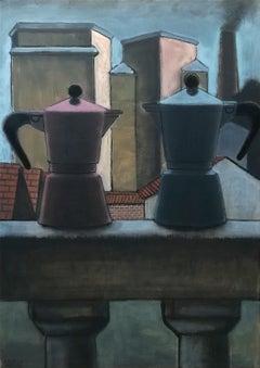 Italian Contemporary Art by Andrea Vandoni - Suburdan Idyll