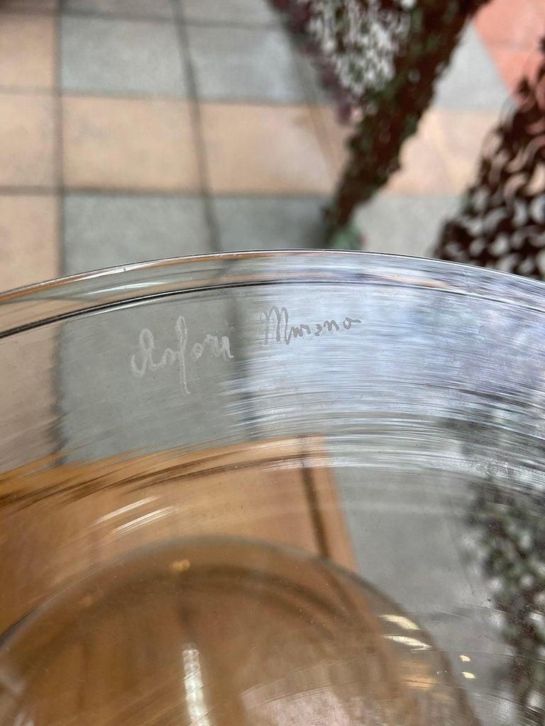 Italian Andrea Zilio, Amphora in Murano Glass  For Sale