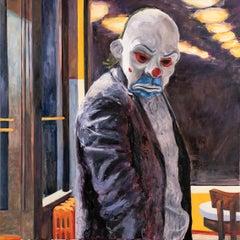 Joker II, Painting, Oil on Canvas