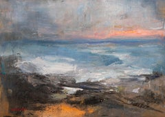 Seascape 2021-03-01, Painting, Oil on Canvas