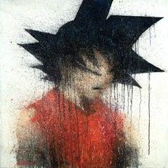 Son Goku, Painting, Oil on Canvas