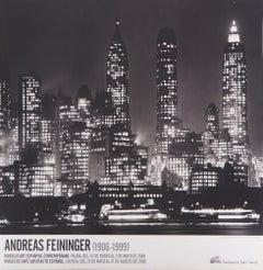 New York Skyline at Night - Offset Poster, 2008