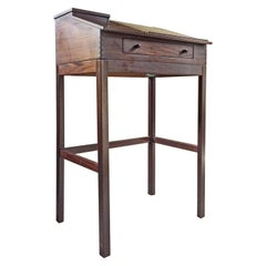 Andreas Hansen Rosewood Standing Writing Desk Danish Lectern Stand, 1970s