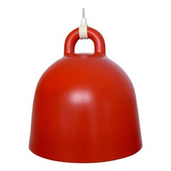 Andreas Lund and Jacob Rudbeck for Normann Copenhagen. Bell pendant in red.