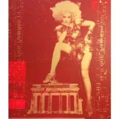 Marlene Brandenburg Gate Red/Gold