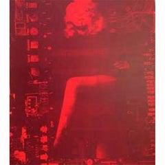 Marlene Leg Red/Black 25