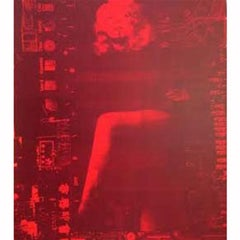 Marlene Leg Red/Red  25