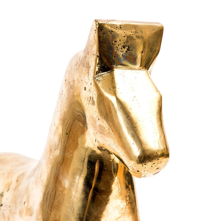 Contemporary Andreas Wargenbrant Horse Sculpture Bronze For Sale