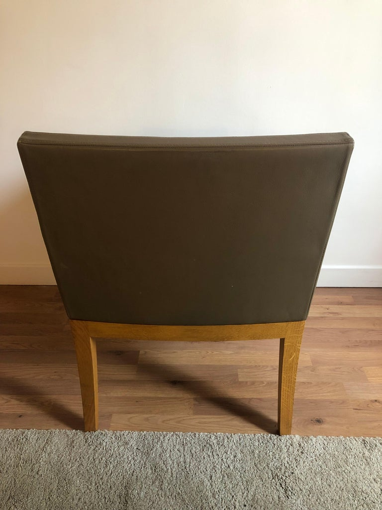 French Andrée Putman armchair Le  Studio Bridge For Sale