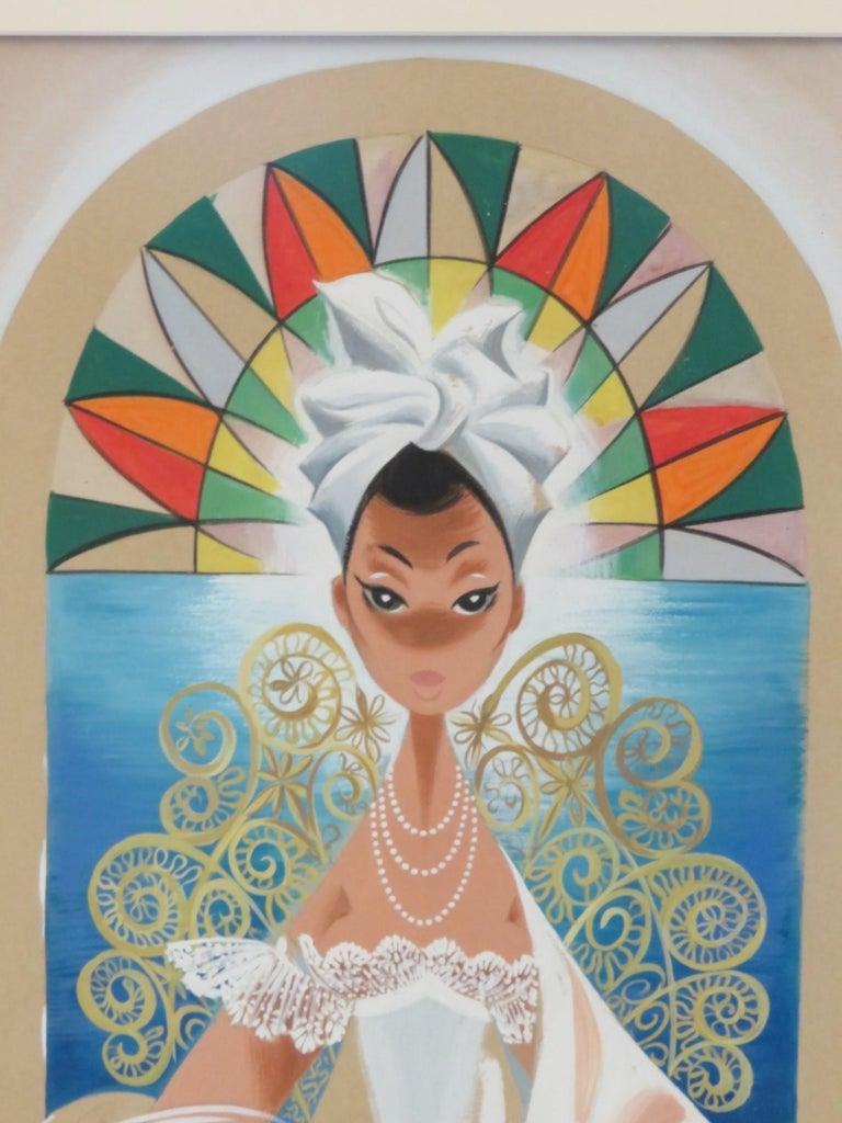 Mid-Century Modern Andrés Garcia Benitez Cuban Artist Created Carteles Magazine Covers For Sale