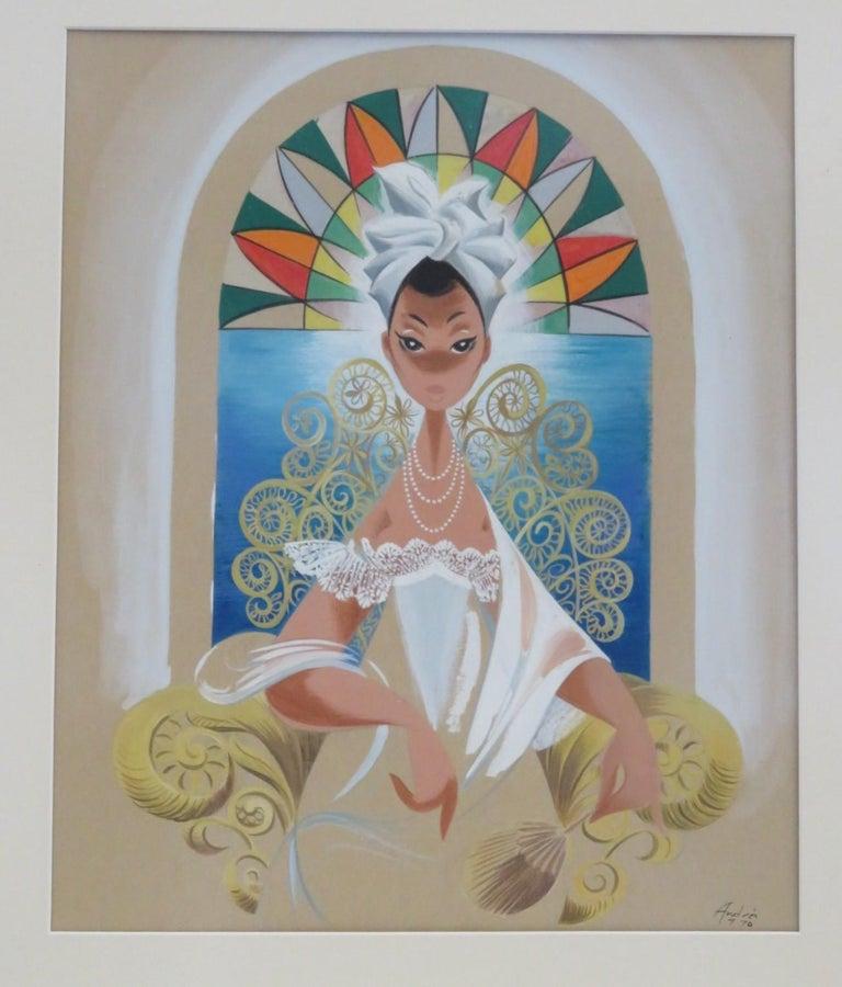 Painted Andrés Garcia Benitez Cuban Artist Created Carteles Magazine Covers For Sale