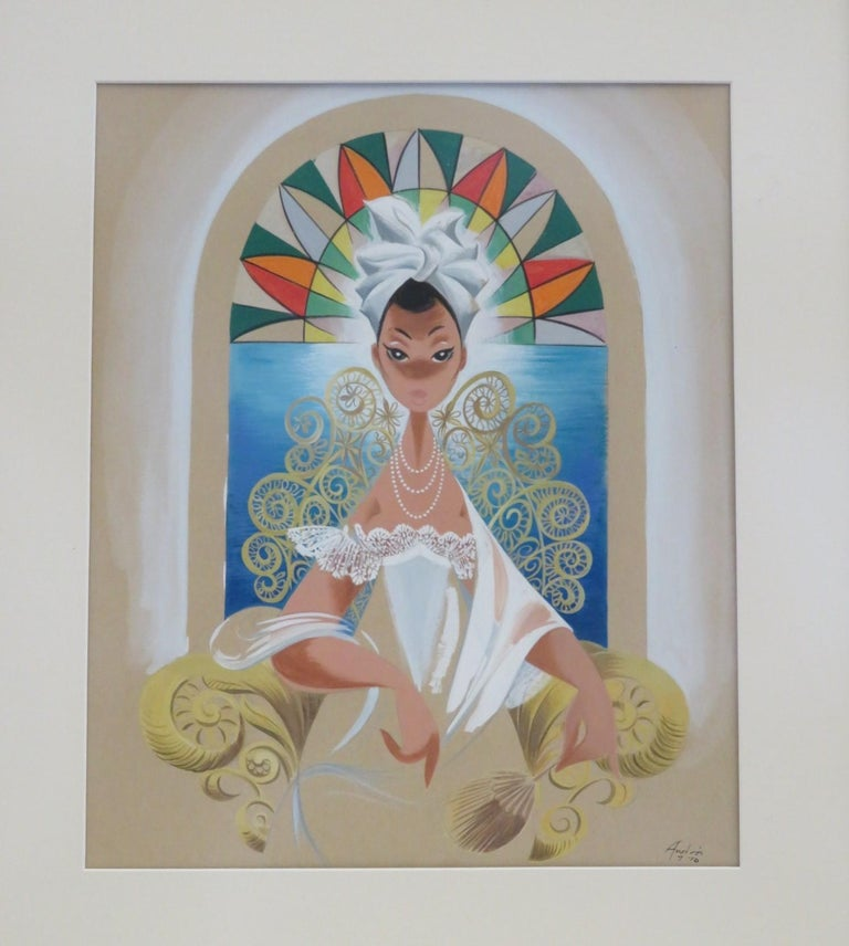 Andrés Garcia Benitez Cuban Artist Created Carteles Magazine Covers In Good Condition For Sale In Miami, FL