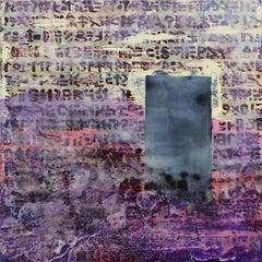 Menhir, Contemporary Encaustic Wax Painting